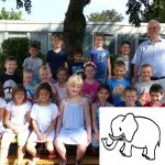Klassenfoto Mini Elefant