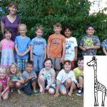 Klassenfoto Mini Giraffe 2